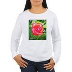 Fiery Rose Women's Long Sleeve T-Shirt