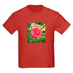 Fiery Rose Kids Dark T-Shirt