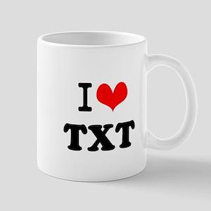 I Love blah blah(2~3 letters) Mug