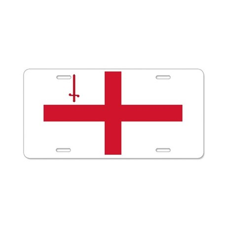 Flag of London Aluminum License Plate