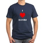 I LUV HATERZ GEAR Men's Fitted T-Shirt (dark)