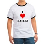 I LUV HATERZ GEAR Ringer T
