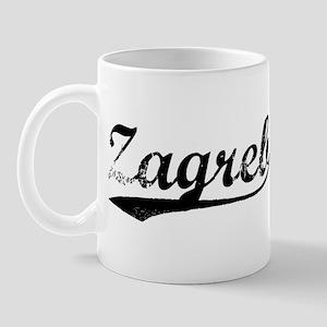 Vintage Zagreb Mug