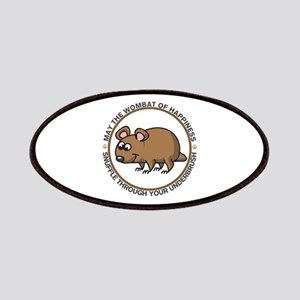 Wombat Of Happiness Patches