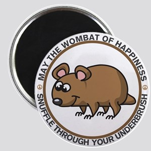 Wombat Of Happiness Magnet