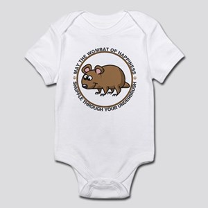 Wombat Of Happiness Infant Bodysuit