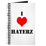 I LUV HATERZ GEAR Journal