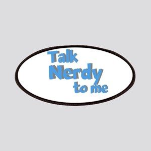 Talk Nerdy Patches