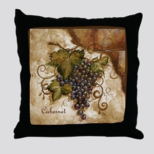 Best Seller Grape Throw Pillow