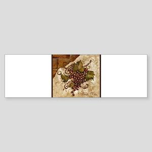Best Seller Grape Sticker (Bumper)