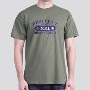 Border Collie PROPERTY Dark T-Shirt