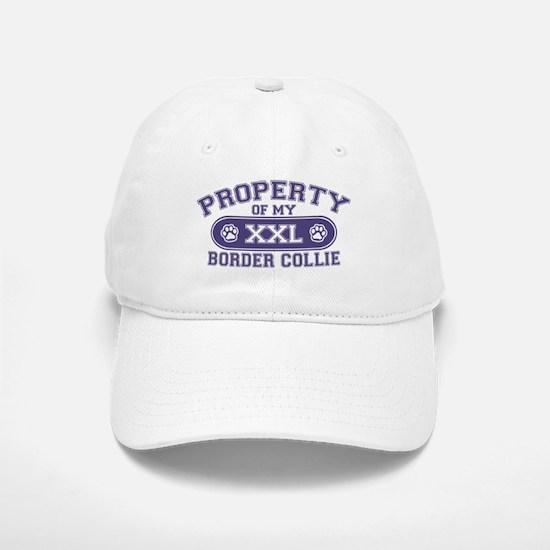 Border Collie PROPERTY Baseball Baseball Cap