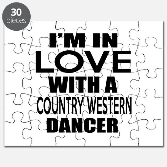 I Am In Love With Country Western Dancer Puzzle