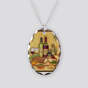 Best Seller Grape Necklace Oval Charm