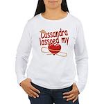Cassandra Lassoed My Heart Women's Long Sleeve T-S