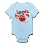 Cassandra Lassoed My Heart Infant Bodysuit