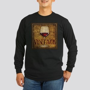 Best Seller Grape Long Sleeve Dark T-Shirt