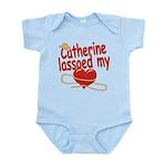 Catherine Lassoed My Heart Infant Bodysuit