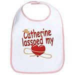 Catherine Lassoed My Heart Bib
