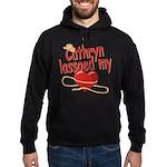 Cathryn Lassoed My Heart Hoodie (dark)