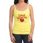 Cathryn Lassoed My Heart Jr. Spaghetti Tank