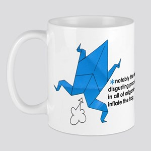 Origami Frog Mug