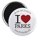 I Heart Parks Magnet