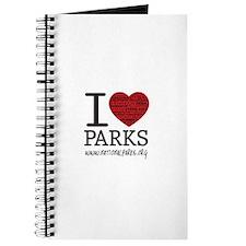 I Heart Parks Journal