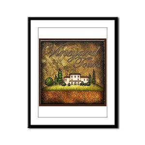 Best Seller Grape Framed Panel Print