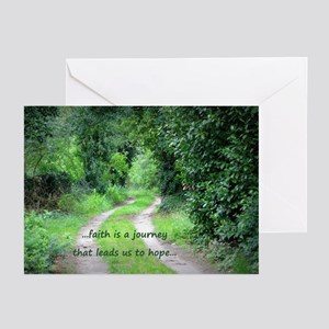 Faith is a Journey Greeting Cards (Pk of 10)
