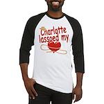 Charlotte Lassoed My Heart Baseball Jersey
