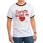 Charlotte Lassoed My Heart Ringer T