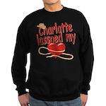 Charlotte Lassoed My Heart Sweatshirt (dark)