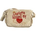 Charlotte Lassoed My Heart Messenger Bag