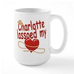 Charlotte Lassoed My Heart Large Mug