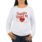 Chaundra Lassoed My Heart Women's Long Sleeve T-Sh