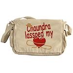 Chaundra Lassoed My Heart Messenger Bag