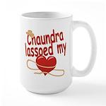 Chaundra Lassoed My Heart Large Mug