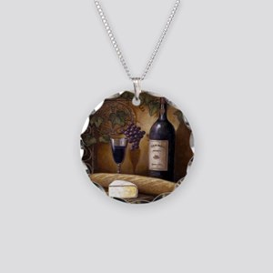 Best Seller Grape Necklace Circle Charm