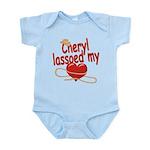 Cheryl Lassoed My Heart Infant Bodysuit