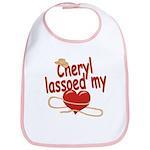 Cheryl Lassoed My Heart Bib