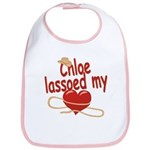 Chloe Lassoed My Heart Bib