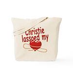 Christie Lassoed My Heart Tote Bag
