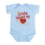 Christie Lassoed My Heart Infant Bodysuit
