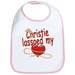 Christie Lassoed My Heart Bib