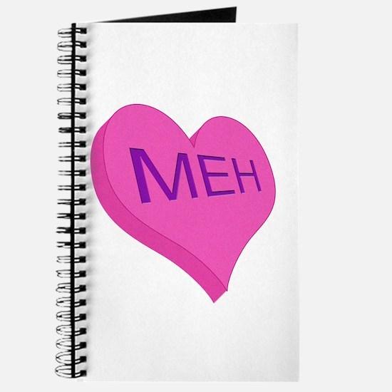 Anti Valentine Candy Meh Journal