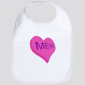 Anti Valentine Candy Meh Bib