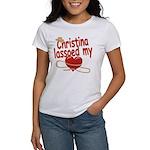 Christina Lassoed My Heart Women's T-Shirt