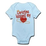 Christina Lassoed My Heart Infant Bodysuit