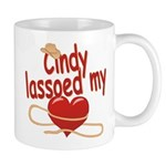 Cindy Lassoed My Heart Mug